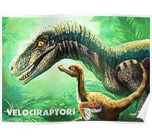 Velociraptors Poster