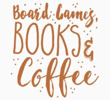 Board games books and coffee Baby Tee