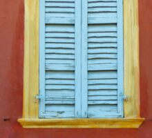 Palazzo window - Italy Sticker