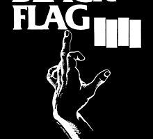 Black Flag My Rules In Black Cool Stuff by manekineko58