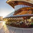 Bennelong Restaurant - Sydney Opera House - Australia by Bryan Freeman