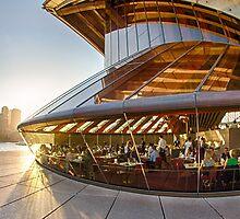 Bennelong Restaurant - Sydney Opera House - Australia by Bryan Freeman