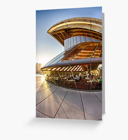 Bennelong Restaurant - Sydney Opera House - Australia Greeting Card