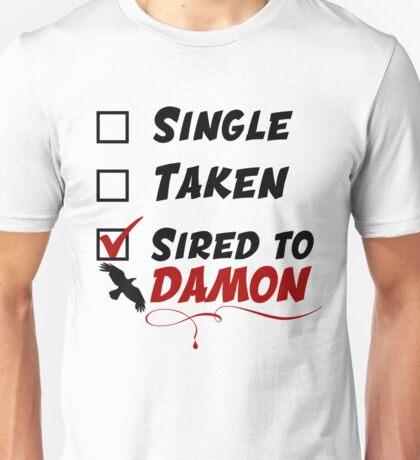 Damon Salvatore TVD Unisex T-Shirt