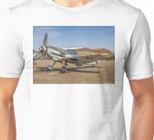 "Messerschmitt Bf109G-4 D-FWME ""Rote Sieben"" on static display Unisex T-Shirt"