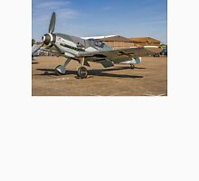 "Messerschmitt Bf109G-4 D-FWME ""Rote Sieben"" on static display Unisex T-Shirt"