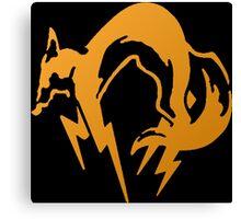 Foxhound Orange - Metal Gear Canvas Print