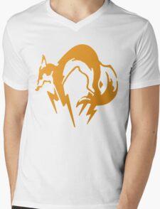 Foxhound Orange - Metal Gear Mens V-Neck T-Shirt