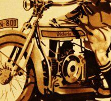 VICTORIA : Motorrader victoria Sticker