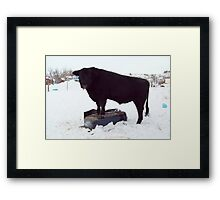 Conquering Mount Tub Framed Print
