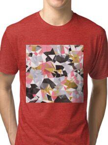 Cool geometric abstract pattern Tri-blend T-Shirt