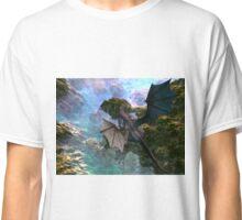 Dragon over Seascape Classic T-Shirt