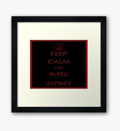 Sithis Framed Print