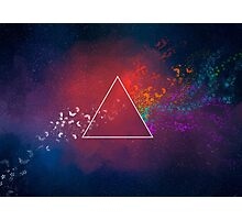 The dark side of the moon Photographic Print