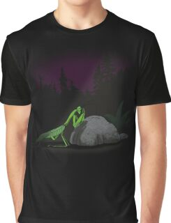 Praying Mantis Graphic T-Shirt
