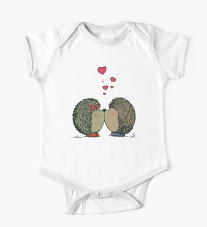 Hedgehogs in love One Piece - Short Sleeve