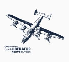 B-24 Liberator One Piece - Long Sleeve