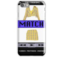 FASHIONABLY CLUELESS - DRESS-UP SOFTWARE  iPhone Case/Skin