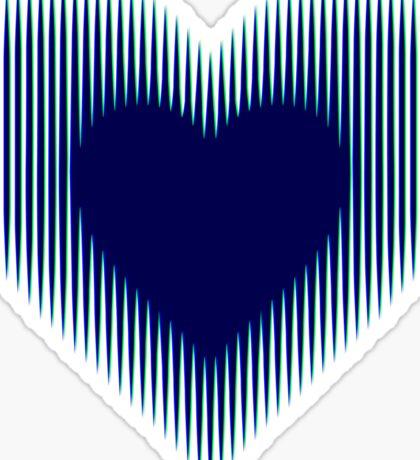 Trance Gothic Heart Sticker