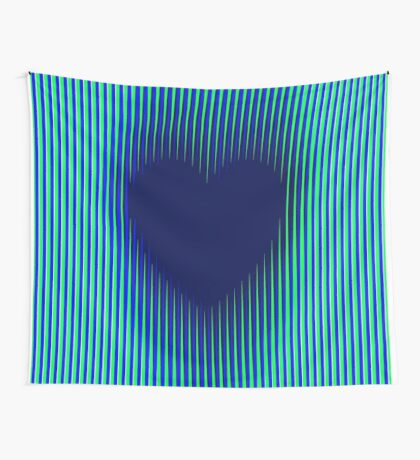Trance Gothic Heart Wall Tapestry