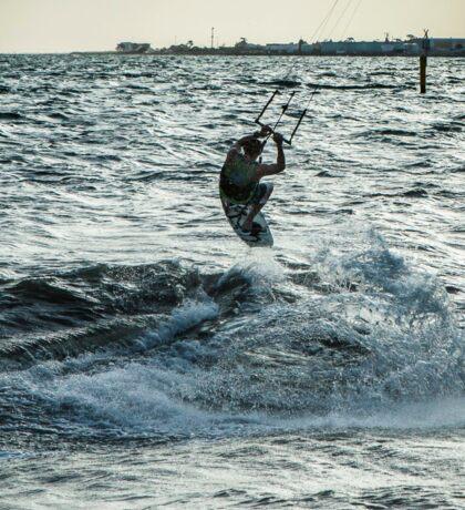 Kite Surfing Sticker