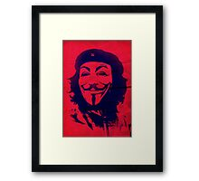 Che Anonymous Framed Print
