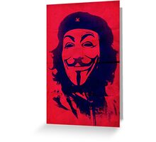Che Anonymous Greeting Card