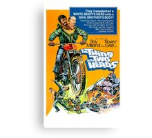 HOT ROD : The Thing with Two Heads  Canvas Print