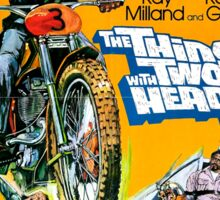HOT ROD : The Thing with Two Heads  Sticker