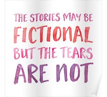 The Stories May Be Fictional (Pink) Poster