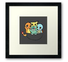 Pocket Monster Framed Print
