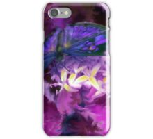 Abstract Purple Butterfly Art iPhone Case/Skin