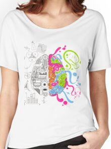 Brain Creativity Women's Relaxed Fit T-Shirt