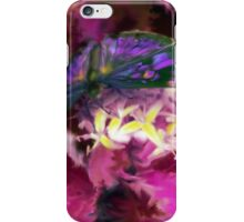 Purple Butterfly Art iPhone Case/Skin