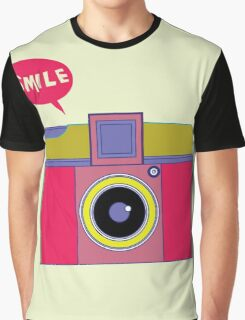 smile camera Graphic T-Shirt