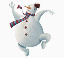 Dancing Snowman Kids Clothes