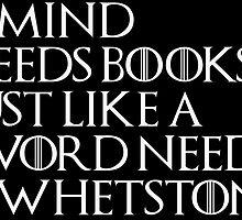 Tyrion Lannister Quote Black by nerdytalks