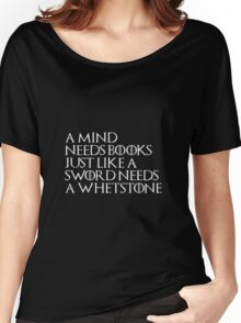 Tyrion Lannister Quote Black Women's Relaxed Fit T-Shirt