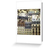 Paris Rooftop #2 Greeting Card