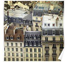Paris Rooftop #2 Poster