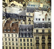 Paris Rooftop #2 Photographic Print