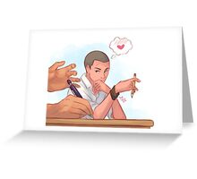 your beautiful hands Greeting Card