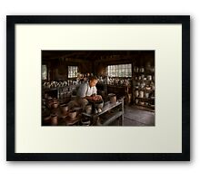 Potter - Raised in the clay Framed Print