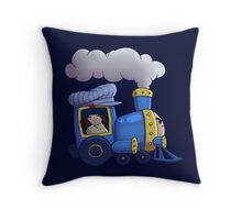 Sleepy Time Junction Throw Pillow