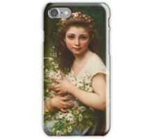 Jules-Cyrille Cavé  FRENCH PLASIRS DES CHAMPS iPhone Case/Skin