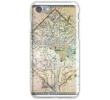 Map of Washington, DC  iPhone Case/Skin