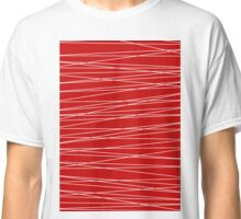 Red Lines Classic T-Shirt