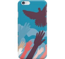 Dove and Hands 3 iPhone Case/Skin
