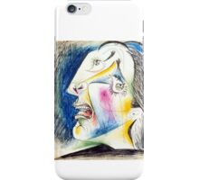 Crying Woman - Pablo Picasso Iphone 6 snap iPhone Case/Skin