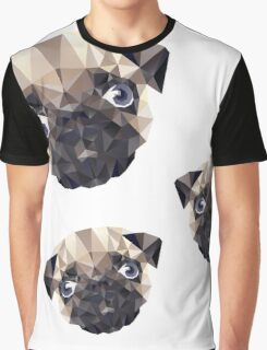 Pug Diamonds Graphic T-Shirt